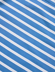 Lauren Ralph Lauren - Striped Cotton-Blend Boatneck Top - t-shirts - captain blue/whit - 3