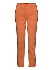 Slim Fit Stretch Chino Pant - SHELL CORAL