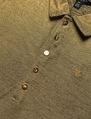 Lauren Ralph Lauren - Metallic Jersey Polo Shirt - polohemden - gold metal - 2