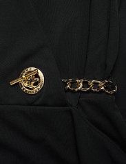 Lauren Ralph Lauren - Jersey Sleeveless Wrap Dress - aftenkjoler - polo black - 3