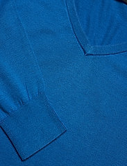 Lauren Ralph Lauren - Modal-Silk V-Neck Sweater - pulls - captain blue - 3