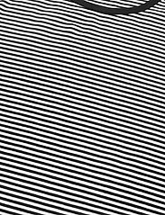 Lauren Ralph Lauren - Striped Cotton-Blend T-Shirt - t-shirts - white/polo black - 3