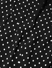 Lauren Ralph Lauren - Polka-Dot Bishop-Sleeve Crepe Dress - hverdagskjoler - polo black/white - 3