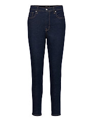 High-Rise Skinny Ankle Jean - RINSE WASH