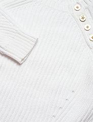 Lauren Ralph Lauren - Button-Trim Cotton Sweater - trøjer - white - 3