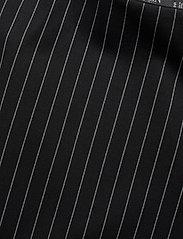 Lauren Ralph Lauren - Pinstripe Flounced Ponte Skirt - midinederdele - polo black/mascar - 3