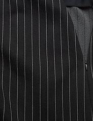 Lauren Ralph Lauren - Pinstripe Flounced Ponte Skirt - midinederdele - polo black/mascar - 4
