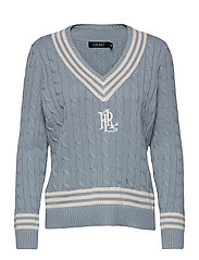 Logo Cricket Sweater - DUST BLUE/ MAS CR