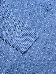 Lauren Ralph Lauren - Cable-Knit Crewneck Sweater - trøjer - cabana blue - 3