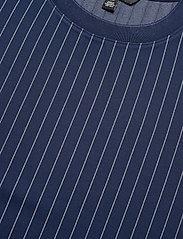 Lauren Ralph Lauren - Pinstripe Ponte Tee - t-shirts - french navy/pale - 3