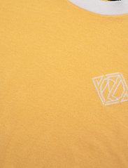 Lauren Ralph Lauren - Intarsia-Knit Cotton-Modal Sweater - strikkede toppe - beach yellow/whit - 2