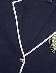 Lauren Ralph Lauren - Bullion Combed Cotton Blazer - vestes casual - french navy/ whit - 3