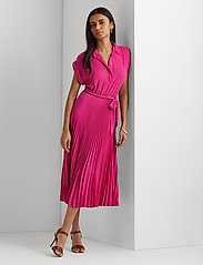 Lauren Ralph Lauren - Pleated Georgette Shirtdress - robes d'été - nouveau bright pi - 0