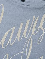 Lauren Ralph Lauren - Logo Boatneck Tee - t-shirts - dust blue - 2