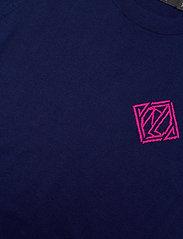 Lauren Ralph Lauren - Cotton-Modal Short-Sleeve Sweater - strikkede toppe - french navy - 2