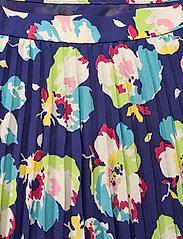 Lauren Ralph Lauren - Floral Pleated Georgette Midi Skirt - træningsnederdele - blue multi - 2