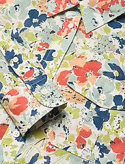 Lauren Ralph Lauren - Floral Cotton Voile Shirt - langærmede skjorter - cream multi - 2