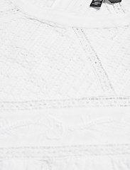 Lauren Ralph Lauren - Cotton Voile Blouse - langærmede bluser - white - 2