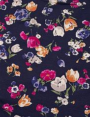 Lauren Ralph Lauren - Floral Stretch Cotton Midi Dress - sommerkjoler - french navy multi - 3