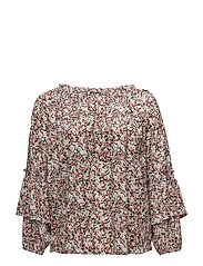 LIQUID CTN JERSEY-TOP - BLUSH MULTI