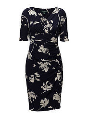 B380-FOYERS FLORAL-CHELSIE - LH NAVY/COLONIAL