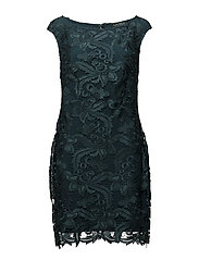 Scalloped-Lace Dress - SPRUCE