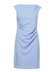 RENE-CAP SLEEVE-DAY DRESS - HYDRANGEA