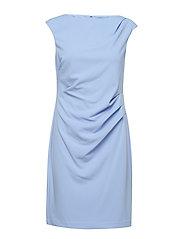 RENE-CAP SLEEVE-DAY DRESS - HYDRANGEA