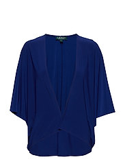 TOVAH-ELBOW SLEEVE-CARDIGAN - RICH SAPPHIRE