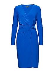 1T-MATTE JERSEY-CASONDRA W/ TRIM - PORTUGUESE BLUE