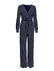 LESLIE-JUMPSUIT - LIGHTHOUSE NAVY/C