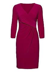 Surplice Jersey Dress - MODERN DAHLIA