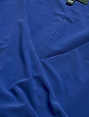 Lauren Ralph Lauren - Surplice Jersey Dress - midi kjoler - regal sapphire - 2