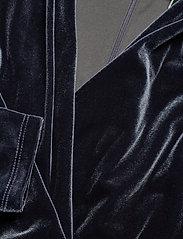 Lauren Ralph Lauren - RADIANT STR VELVET-DRESS - wrap dresses - charcoal - 2