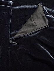 Lauren Ralph Lauren - RADIANT STR VELVET-DRESS - wrap dresses - charcoal - 4