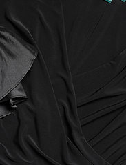 Lauren Ralph Lauren - Ruffled-Cuff Jersey Dress - wrap dresses - black - 2