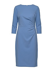 Ruched Jersey Dress - EOS BLUE