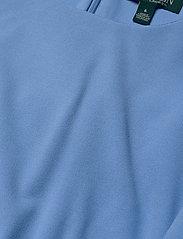 Lauren Ralph Lauren - Ruched Jersey Dress - sukienki do kolan i midi - eos blue - 2