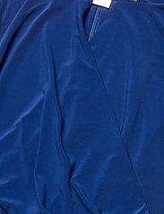 Lauren Ralph Lauren - Wrap-Style Jersey Dress - midi kjoler - summer sapphire - 3
