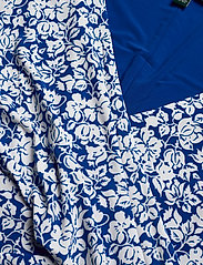 Lauren Ralph Lauren - Print Surplice Jersey Dress - stramme kjoler - regal sapphire/co - 2