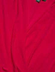 Lauren Ralph Lauren - Pleated Jersey Dress - wrap dresses - berry sorbet - 2