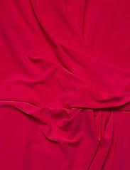 Lauren Ralph Lauren - Pleated Jersey Dress - wrap dresses - berry sorbet - 3