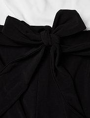 Lauren Ralph Lauren - Two-Tone Jersey Jumpsuit - buksedragter - black/lauren whit - 3