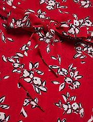 Lauren Ralph Lauren - Floral Crepe Dress - midi kjoler - orient red/lh nav - 5