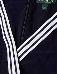 Lauren Ralph Lauren - Surplice Jersey Jumpsuit - kombinezony - lighthouse navy - 2