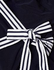 Lauren Ralph Lauren - Surplice Jersey Jumpsuit - kombinezony - lighthouse navy - 4