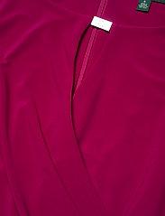 Lauren Ralph Lauren - Wrap-Style Jersey Dress - midi kjoler - modern dahlia - 3