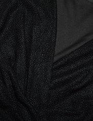 Lauren Ralph Lauren - Metallic Double-Knit Jacquard Dress - cocktailkjoler - black - 2