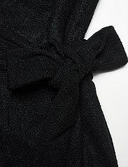 Lauren Ralph Lauren - Metallic Double-Knit Jacquard Dress - cocktailkjoler - black - 3