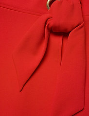 Lauren Ralph Lauren - Crepe Fit-and-Flare Dress - robes de jour - lipstick red - 3